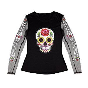 Camiseta mujer día de los muertos