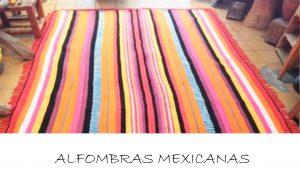 alfombras mexicanas bonitas