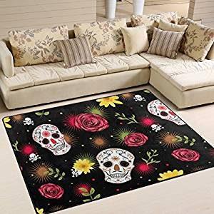 alfombras con decoración mejicana