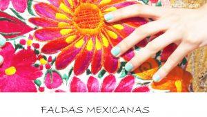 faldas mexicanas bonitas